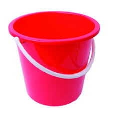 Fiber Bucket with Handle Medium