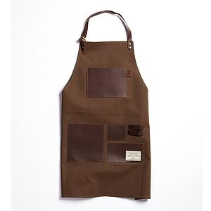 Apron Over Coat Leather